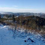 Widok z łowiska Lizawki w obwodzie 344