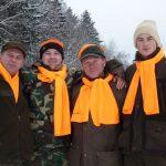 Od lewj: Jasiek, Hirek, Kazimierz i Wojtek-obwód 344