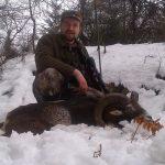 kolega Marcin w łowisku Bania