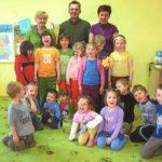 w przedszkolu w Tłumaczowie